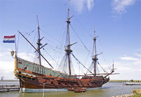 schip amsterdam voc schip in nederland stock foto afbeelding bestaande