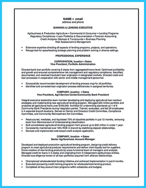 Investment Associate Sle Resume by One Of Recommended Banking Resume Exles To Learn