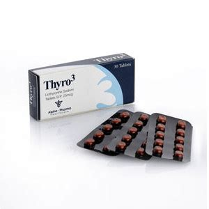 Thyro3 Alpha Pharma T3 Cytomel Liothyronine 1box 30tabs X 25mcg thyro3 we sold as 50 tablets box best offer for liothyronine t3 look at our weight loss