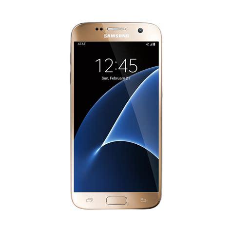 Harga Samsung S7 Resmi jual samsung galaxy s7 flat smartphone gold 32 gb