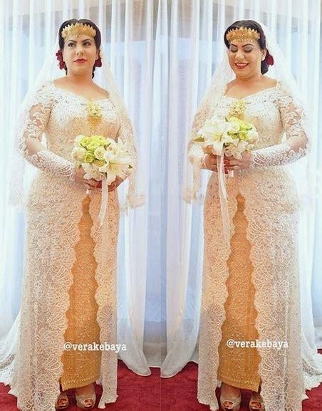 Baju Kebaya Untuk Tubuh Gemuk contoh desain model kebaya untuk wanita gemuk 2017