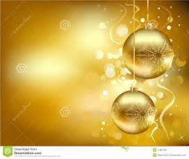 golden christmas decorations stock vector image 11987352