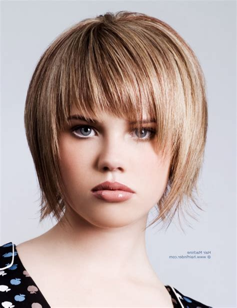 choppy bob haircut with fringe choppy bob hairstyles with fringe razor cut bob hairstyle