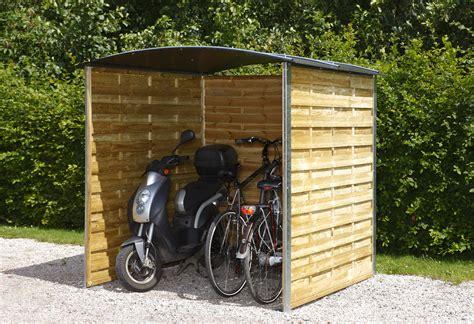 Gartenhaus Mit Fahrradunterstand by Fahrradst 228 Nder Fahrradparker Fahrradunterst 228 Nde