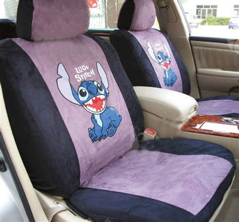 Disney Stitch Floor Mats - buy wholesale disney stitch custom auto car seat cover set