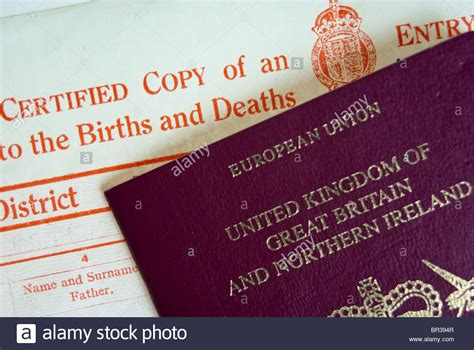 full birth certificate for uk passport british passport no birth certificate