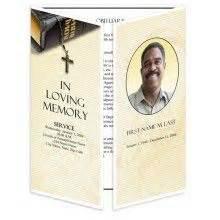 24 Best Funeral Programs Images On Pinterest Memorial Paper Template