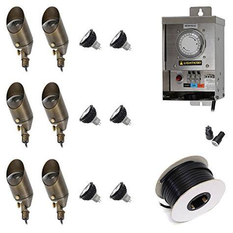 led low voltage landscape lighting kit best led landscape lighting kit out of top 14