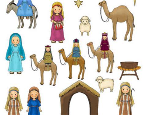 printable nativity scene characters nativity scene characters clipart 55