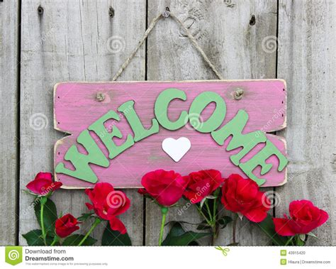 pink weathered  sign  heart hanging  door