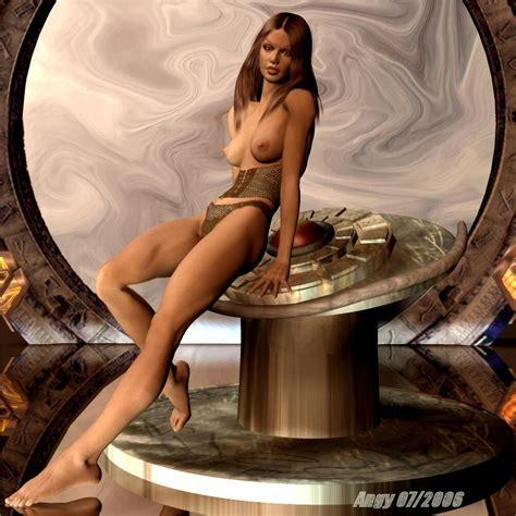 Stargate Nudeupskirt Nude