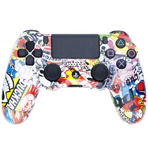 Hoodie Jumper Broadcast Yourself playstation dualshock 4 custom controller sticker bomb