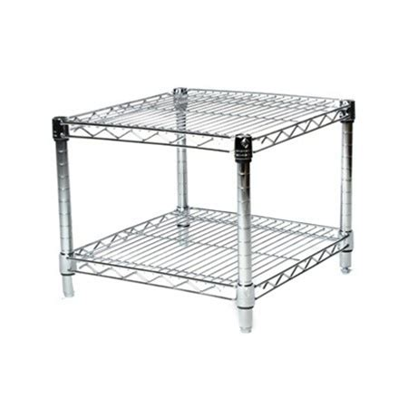 24 wire shelving 24 quot depth wire shelving unit with 2 shelves shelving inc