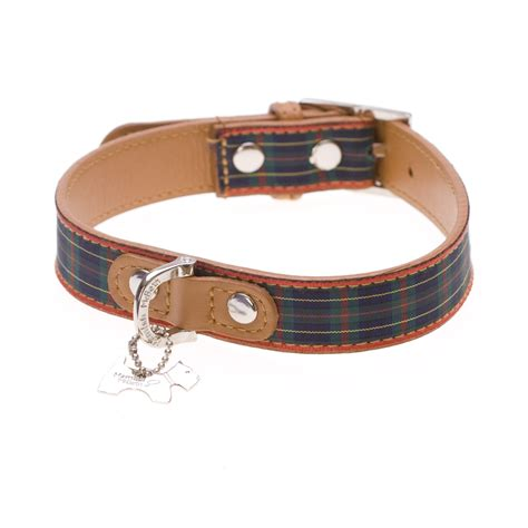 puppy collars classic tartan collars shop