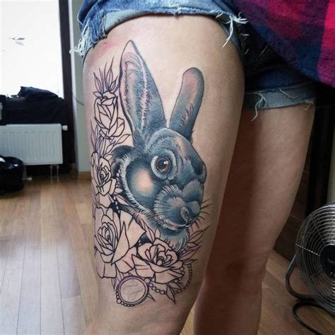 Animal Tattoo Com | 55 gorgeous rabbit tattoo designs rabbit tattoos tattoo