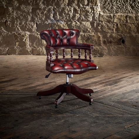 Captain S Swivel Chair From Timeless Chesterfields Uk Captain Swivel Chair