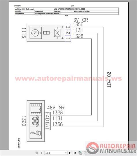 Peugeot 206 1 4 Hdi Workshop Manual Wiring Auto Repair