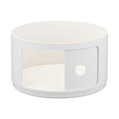 Table De Nuit Kartell by Kartell Table De Chevet Ronde Componibili Blanc