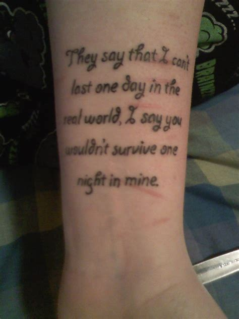 tattoo quotes about scars quotesgram