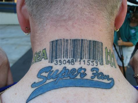 barcode tattoos barcode tattoos designs ideas and meaning tattoos for you