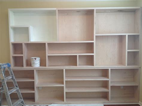 custom bookshelves painted fierro painting