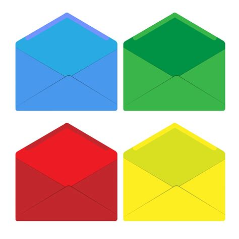 colorful envelopes envelope set colorful free stock photo domain