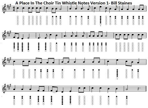 A Place Choir A Place In The Choir Lyrics And Chords Folk Songs