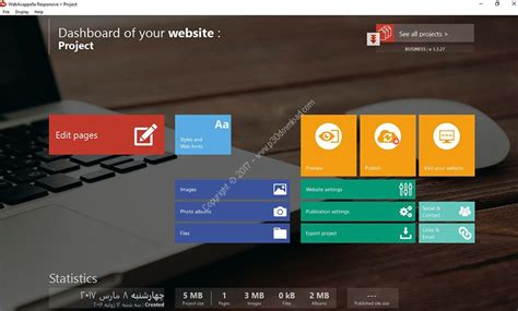 Webacappella Responsive Business For Windows webacappella responsive business v1 3 27 a2z p30