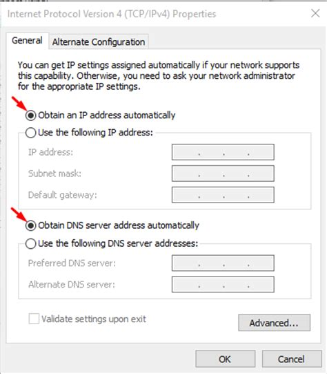 how to enable dhcp in windows 10