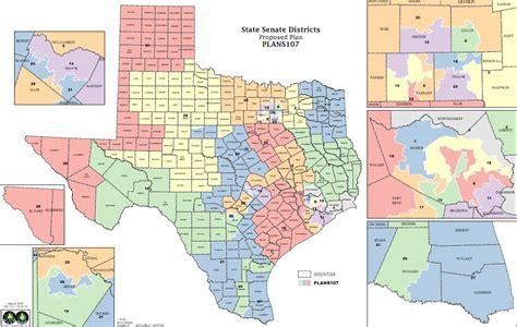 texas state senate map fort worth legislators react to redistricting kut