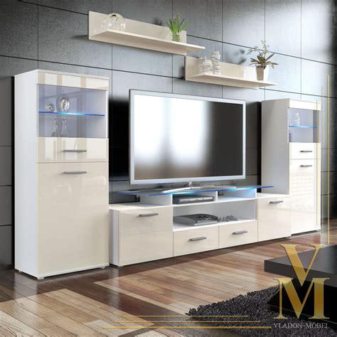 wall unit living room furniture almada v2 in white black wall unit living room furniture almada v2 in white cream