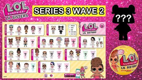 Sold Out Lol Pet Series Wave 2 1 lol series 3 wave 2 lil predictions l o l confetti pop lil wave 2