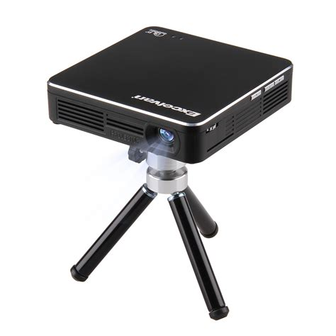 Proyektor Portable Mini Si excelvan dlp led projector wireless home cinema theater