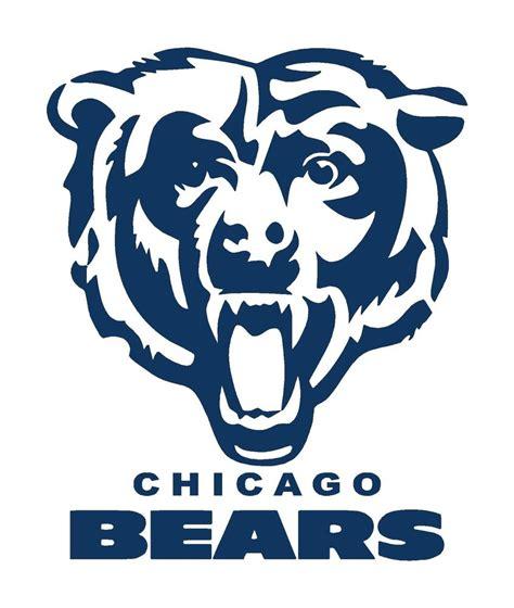 chicago bears bean bag toss decals large 18 quot set