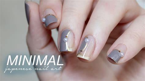 Extremely Easy Nail by Minimal Japanese Inspired Nail