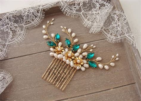 Wedding Hair Accessories Green by Green Hair Accessories For Weddings Wrsnh