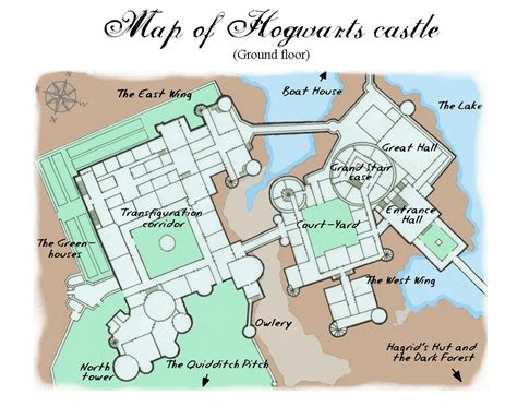 Map Of Hogwarts Castle All Floors by File List Wikimedia Commons