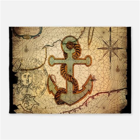 anchor area rug nautical rugs nautical area rugs indoor outdoor rugs