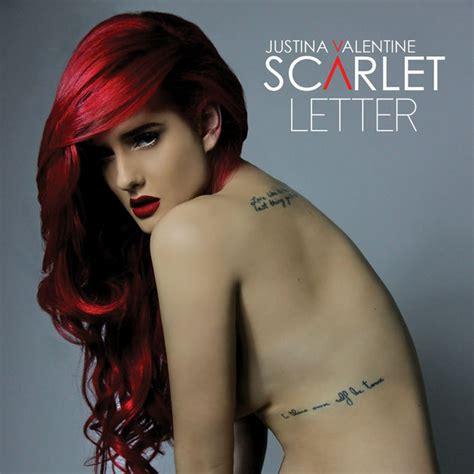 justina faded lyrics scarlet letter by justina