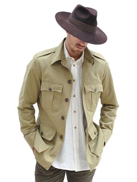 cotton tailored safari jacket http geraldwebster