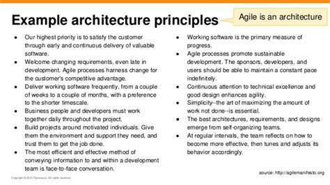 will they blend agile togaf and enterprise architecture