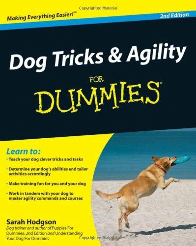 tricks for dogs the canine store tricks and agility for dummies
