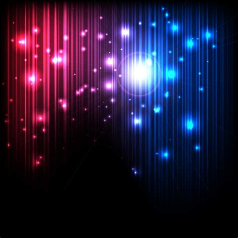 magic lights abstract magic lights background vector free