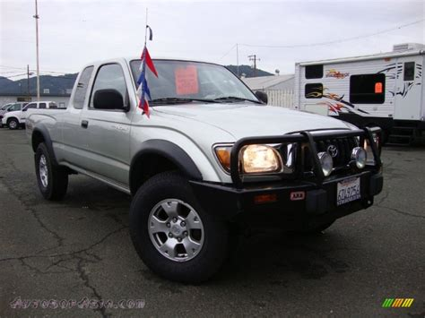 2002 Toyota Tacoma 4x4 For Sale 2002 Toyota Tacoma V6 Trd Xtracab 4x4 In Lunar Mist