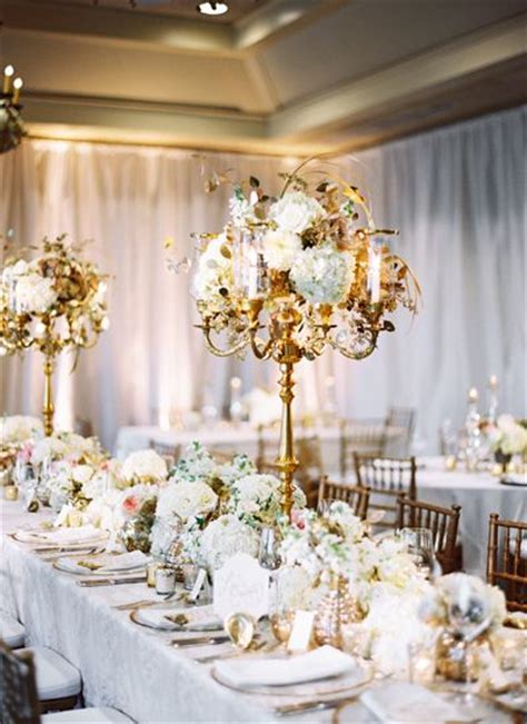 Colleton River Editorial By Spencer Special Events Gold Centerpieces Wedding Reception