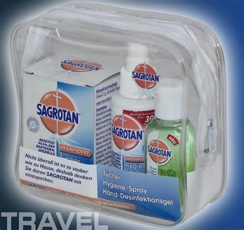 Hygiene Set reise set sagrotan hygiene desinfektion handgep 228 ck 5667 ebay