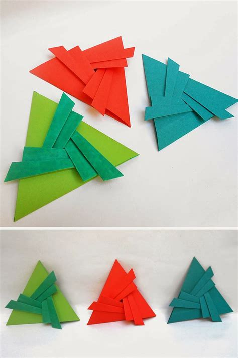 Origami Triangle - origami sobres triangulares plegados en papel mis
