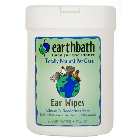 ear wipes earthbath ear wipes for dogs and cats naturalpetwarehouse