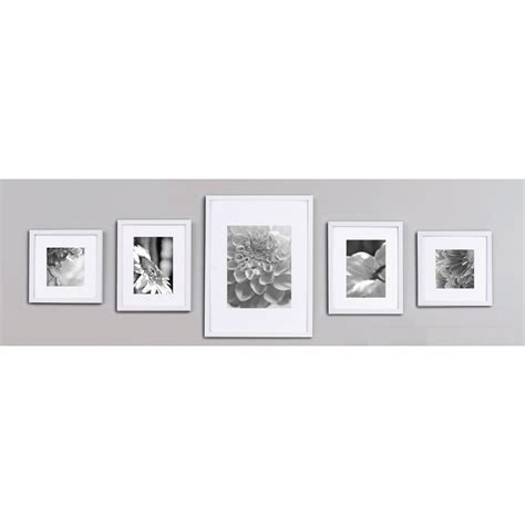 10 x 12 opening matted frame gallery 8 in x 8 in white collage