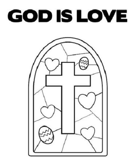 love chapter coloring page god is love coloring pages free religious pinterest